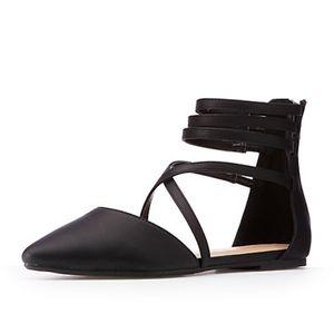 💥 Pointy-toe D'Orsay Flats - NWT